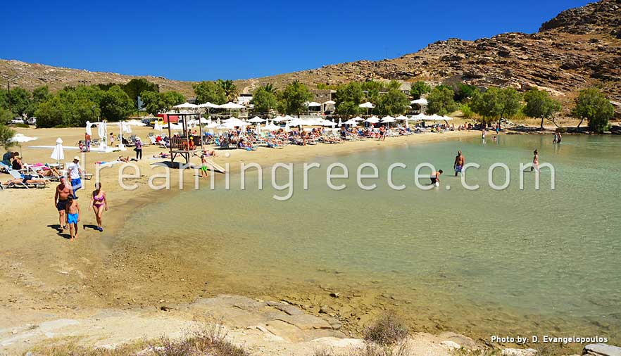 Monastiri beach Paros beaches Greece. Holidays in Greece.