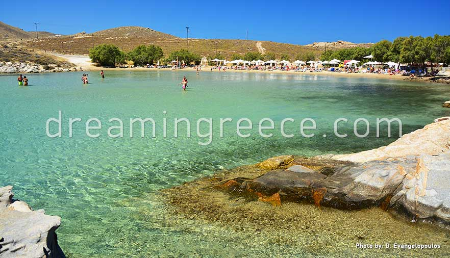 Monastiri beach Paros beaches Greece. Holidays in Paros island.
