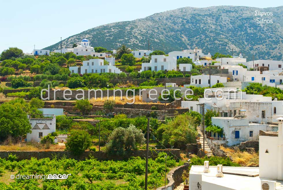 Travel Guide of Sifnos Greece. Vacations Greece