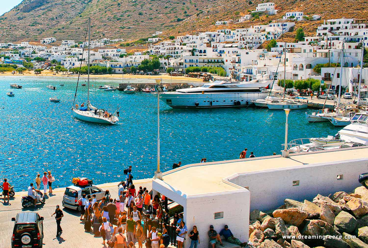 Holidays in Sifnos island Cyclades Vacations Greece