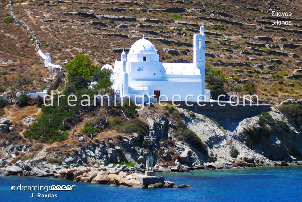 Summer Vacations Sikinos island Cyclades Greece