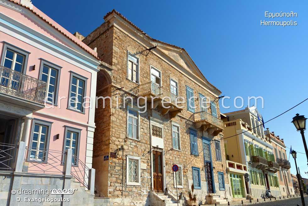 Hermoupolis Syros. Visit Greece