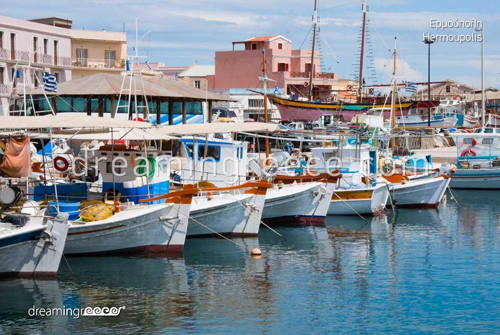 Hermoupolis Syros island Greece