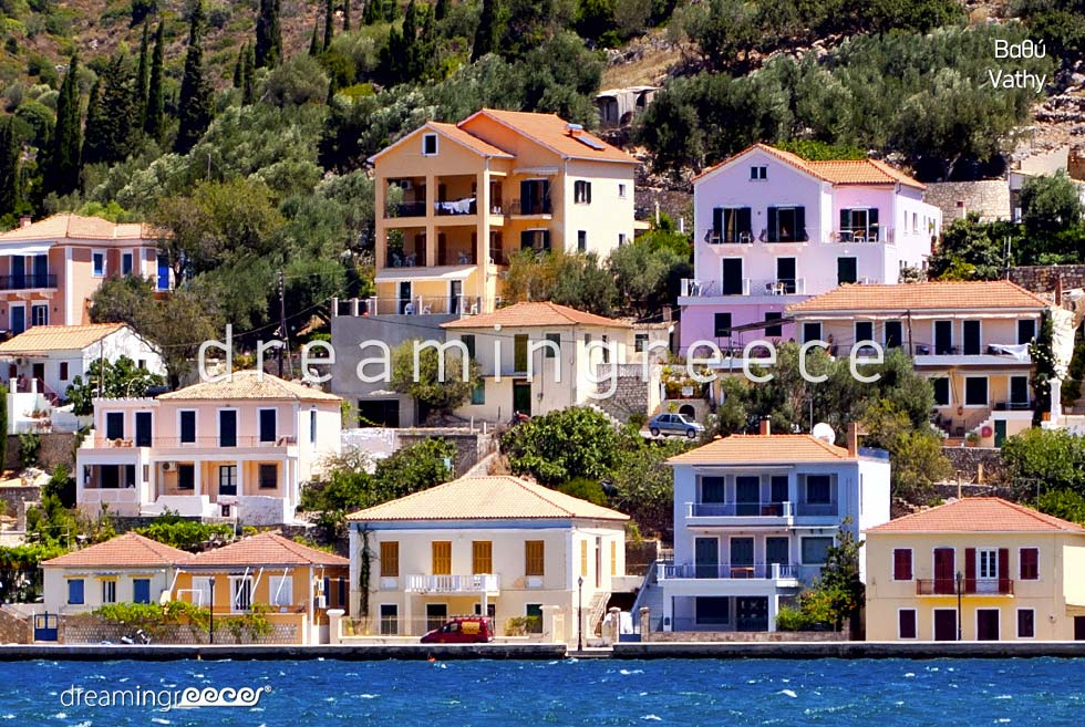 Vacations in Vathy Ithaca Greece Ionian Islands