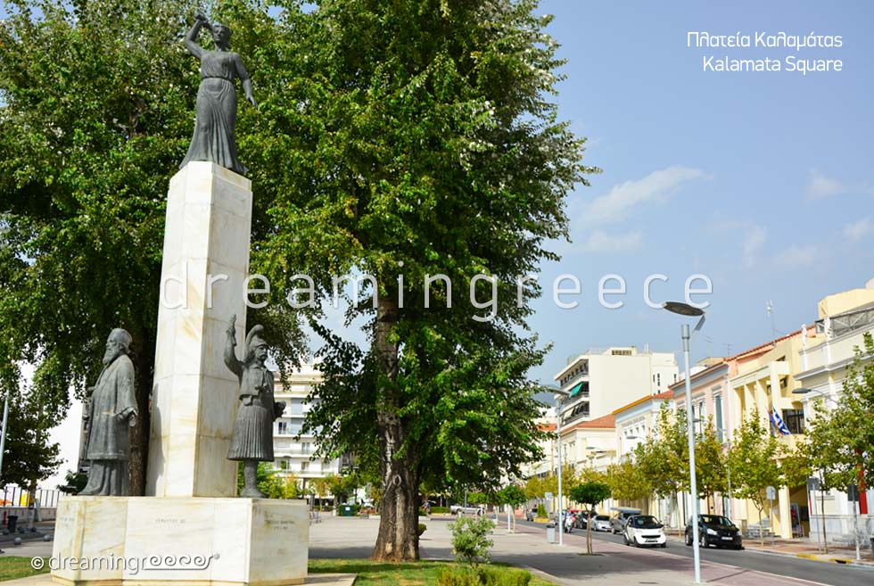 Discover Kalamata Square Messinia Peloponnese Greece