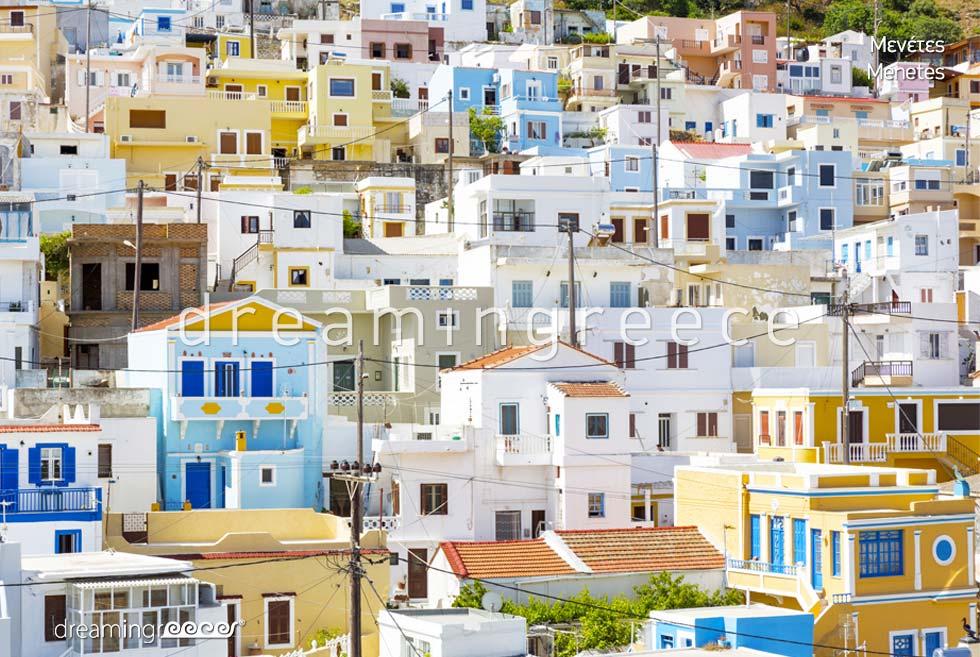 Discover Menetes Karpathos island Dodecanese Greece