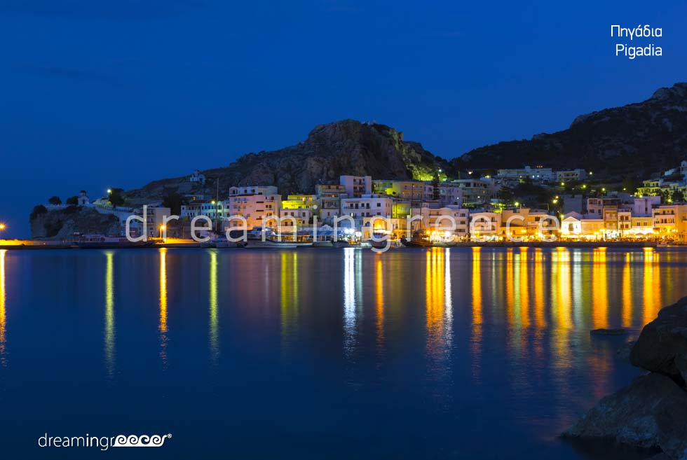 Travel Guide of Pigadia Karpathos island Dodecanese Greece