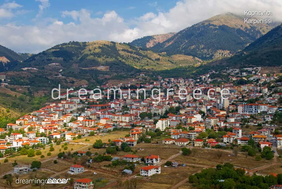 Holidays in Karpenisi Greece