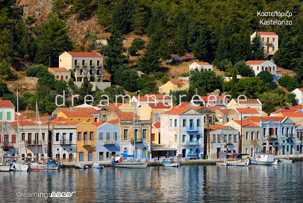 Visit Kastelorizo island Dodecanese Greece