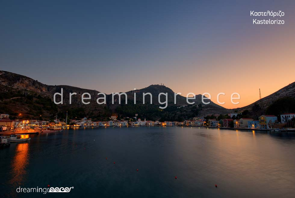 Holidays Kastelorizo Greek islands Dodecanese Greece