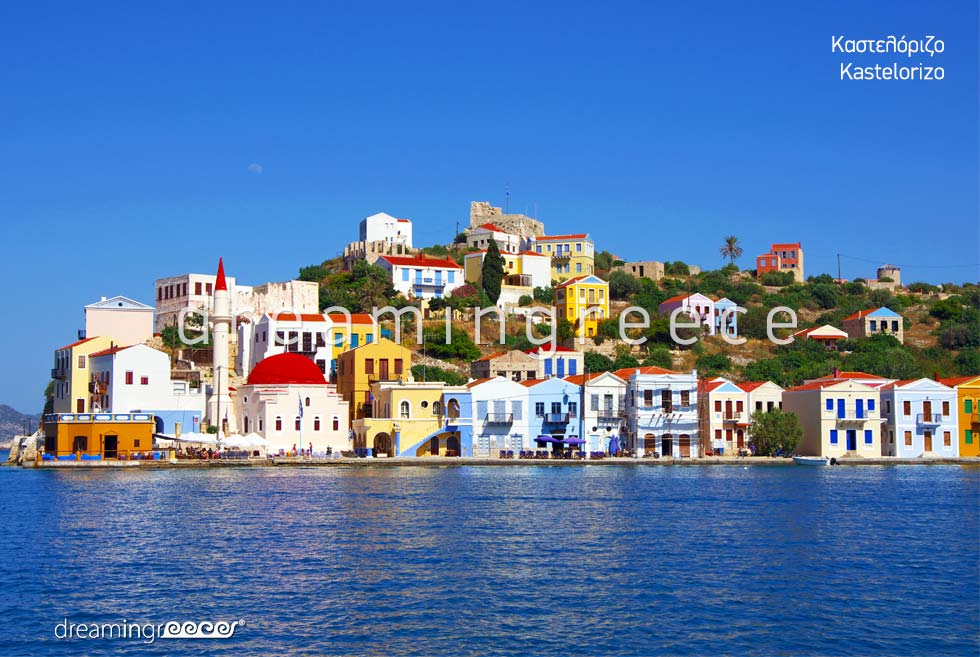 Tourist Guide Kastelorizo Greek islands Dodecanese Greece