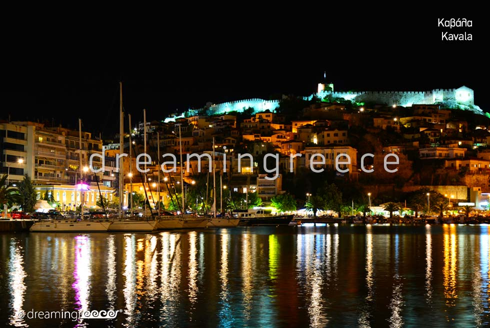 Travel Guide of Kavala. Eastern Macedonia and Thrace Greece