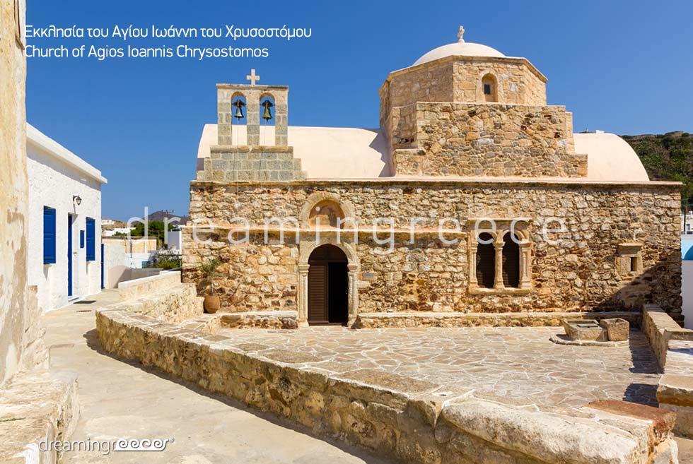 Agios Ioannis Chrysostomos Kimolos island Cyclades. Visit Greece