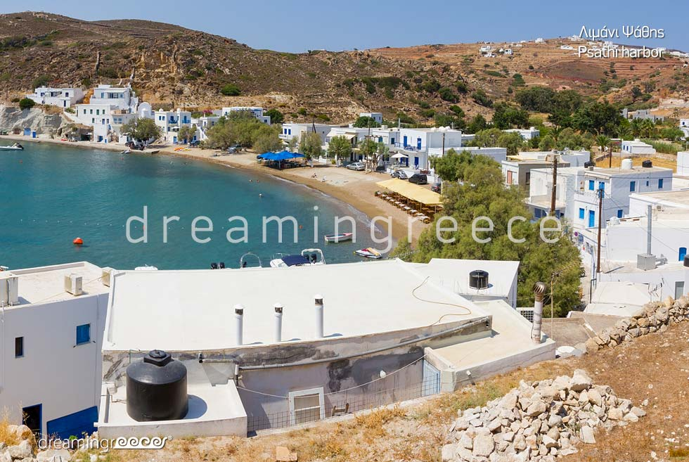 Travel Guide of Kimolos island Cyclades Greece