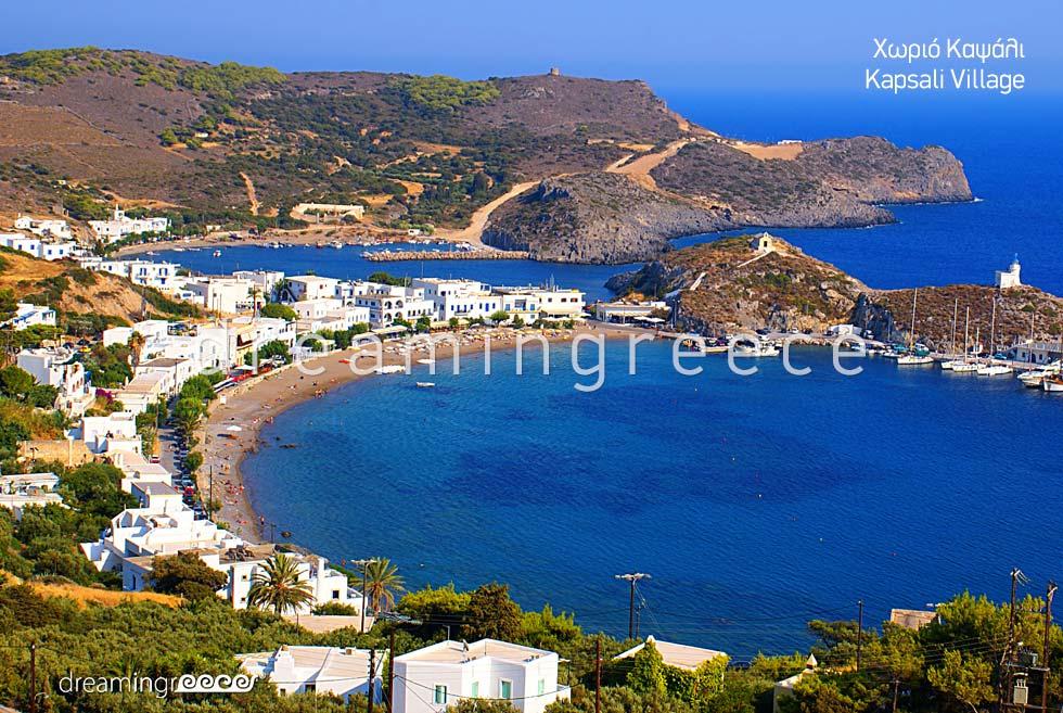 Kapsali Village Holidays in Kythira Island Greece