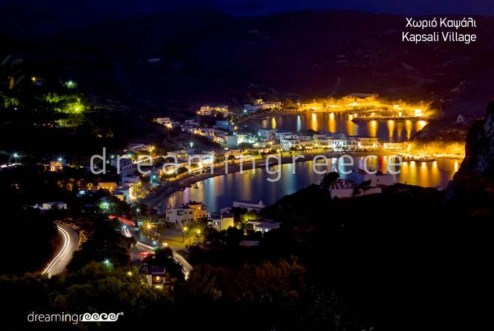 Kapsali Village Tourist Guide of Kythira Island Greece