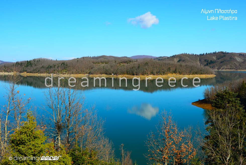 Vacations in Lake Plastiras. Travel Guide of Greece.
