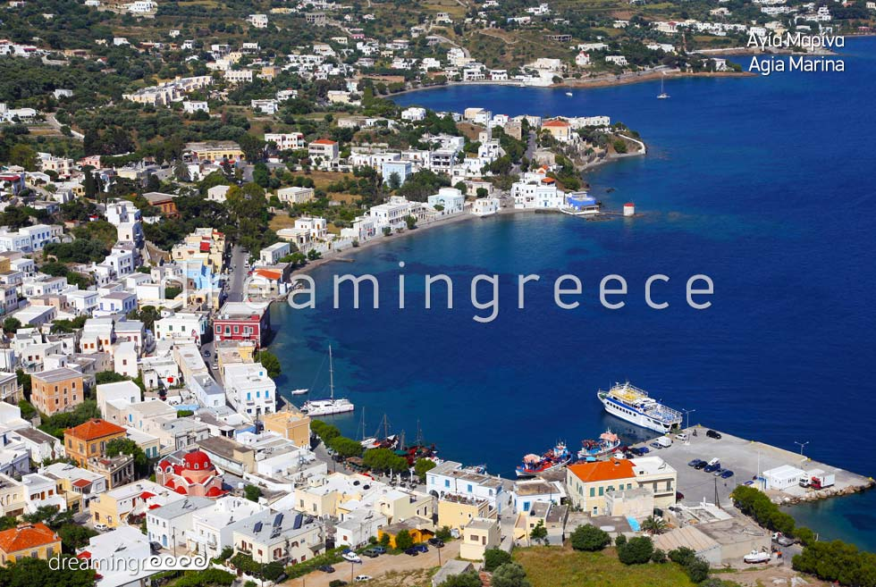 Vacations in Agia Marina Leros island Dodecanese Greece