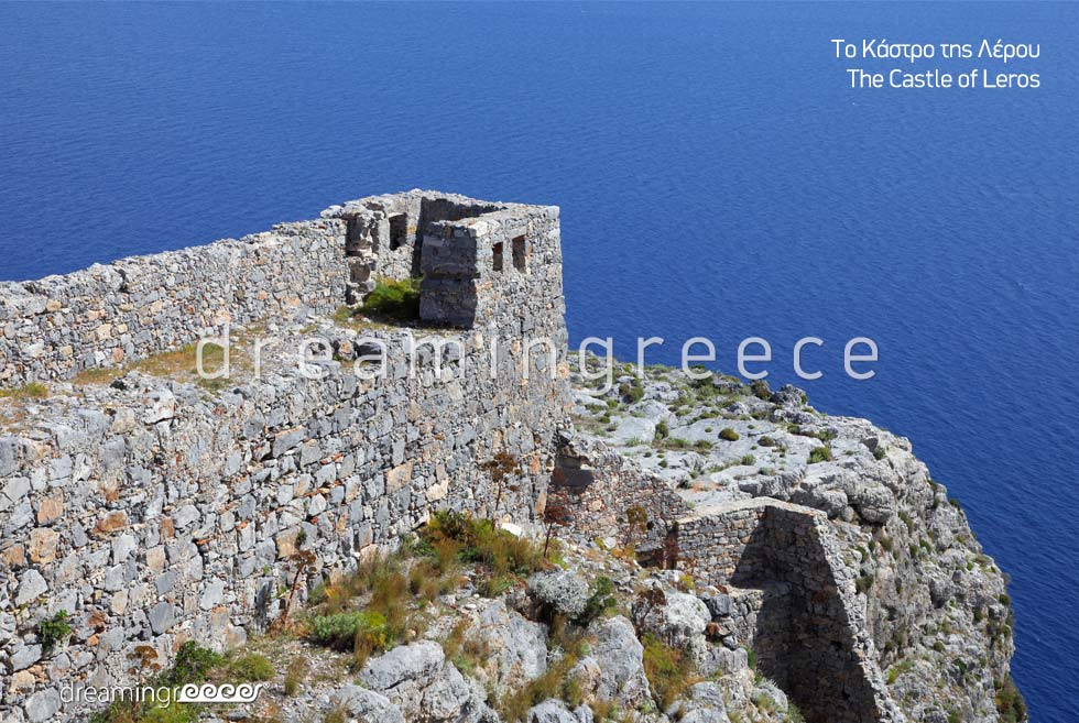 Visit the Castle of Leros island Dodecanese Greece