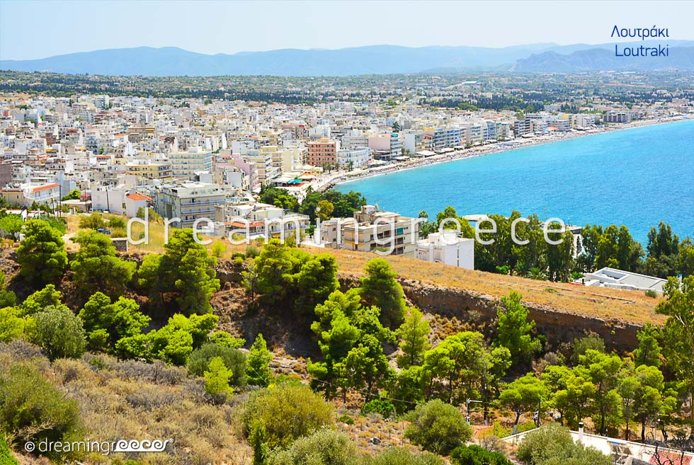 Tourist Guide of Loutraki Corinth Peloponnese Greece