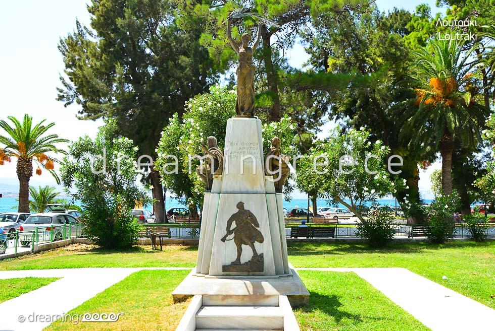 Loutraki Corinth Peloponnese Discover Greece