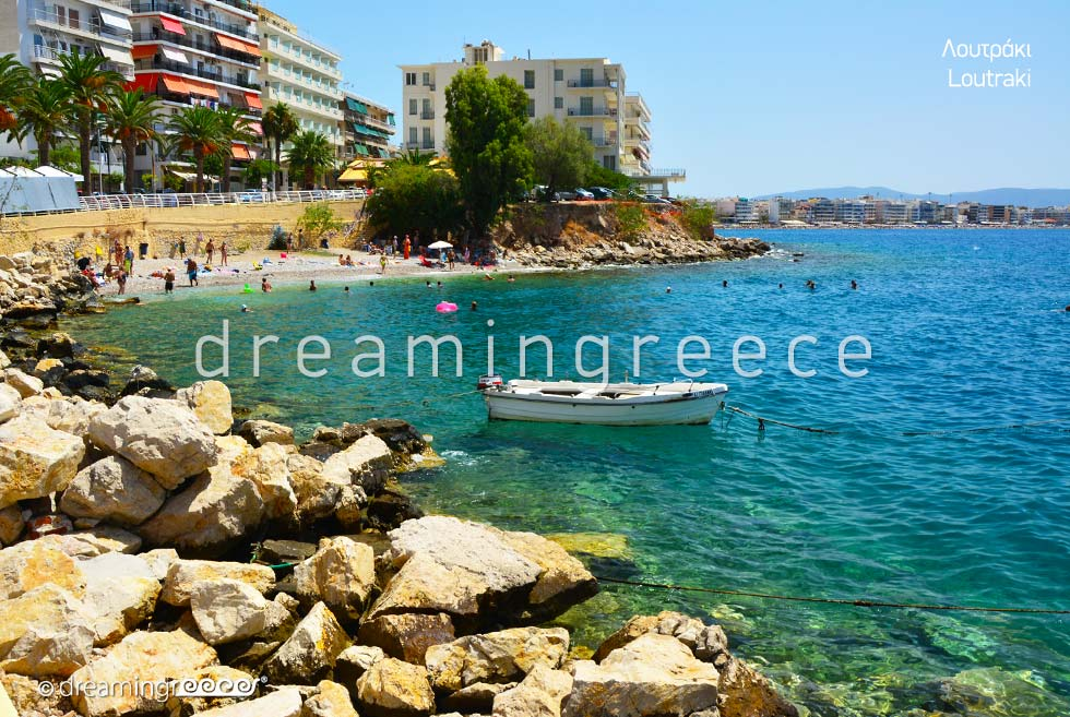 Vacations in Loutraki Corinth Peloponnese Greece
