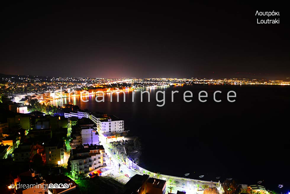 Travel Guide of Loutraki Corinth Peloponnese Greece