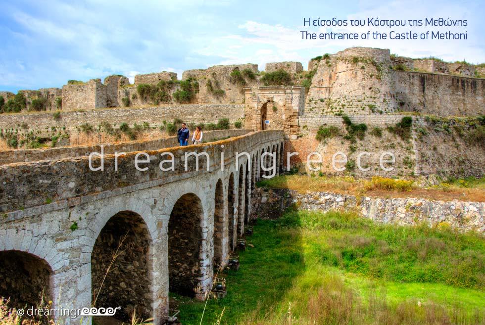 Castle of Methoni Messinia Peloponnese Dream in Greece