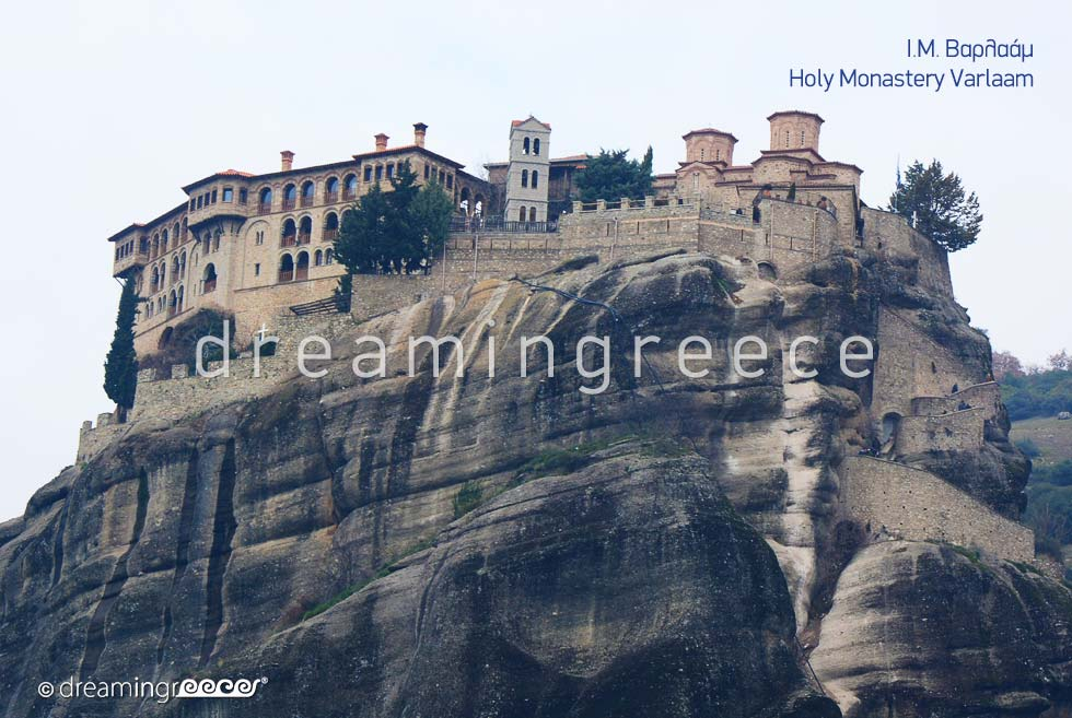 Explore Holy Monastery Varlaam in Meteora Greece