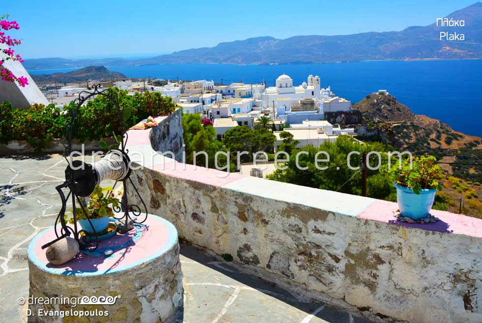 Visit Plaka Village Milos island Greece