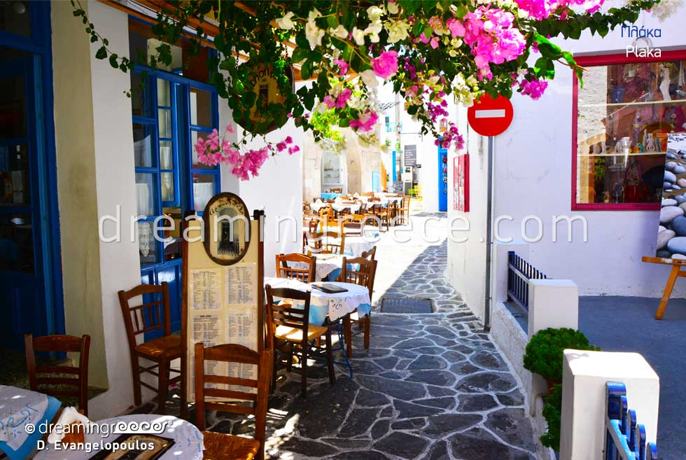 Travel Guide. Plaka Village Milos island Greece