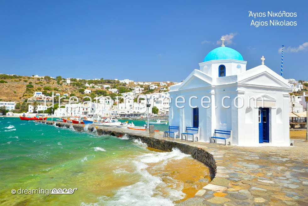 Agios Nikolaos Church Mykonos. Visit Greece