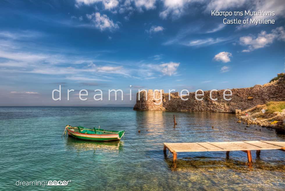 Castle of Mytilene Lesvos Island Northeastern Aegean Islands Greece