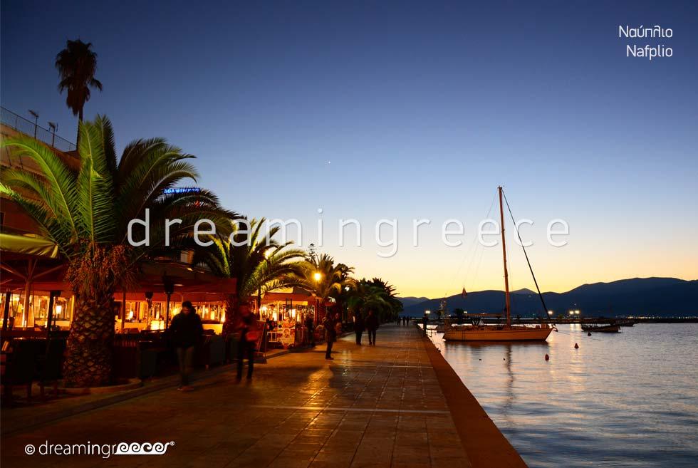 Tourist Guide of Nafplio Argolida Peloponnese Greece