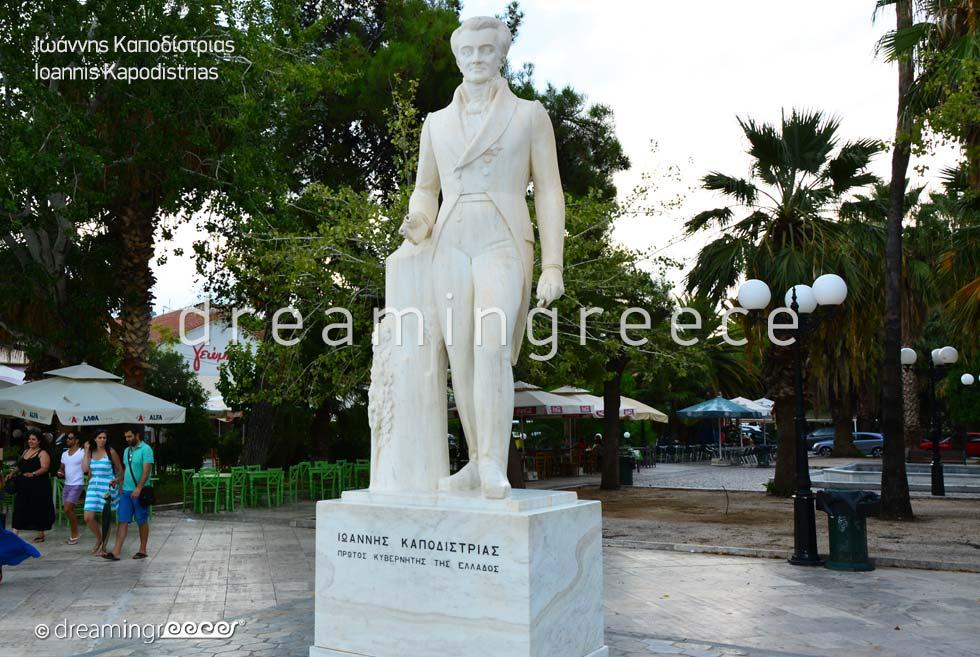 Ioannis Kapodistrias Nafplio Argolida Peloponnese Greece