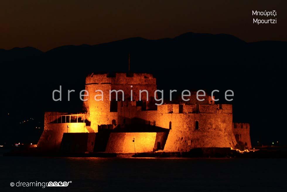 Mpoutzi Nafplio Argolida Peloponnese Tourist Guide of Greece