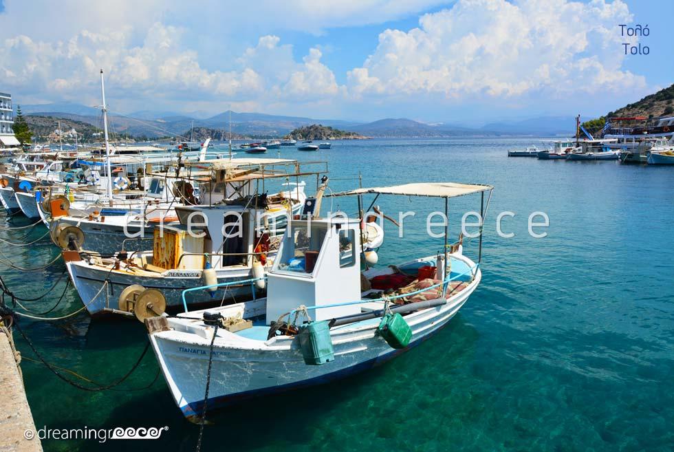 Tourist Guide of Tolo Argolida Peloponnese Greece