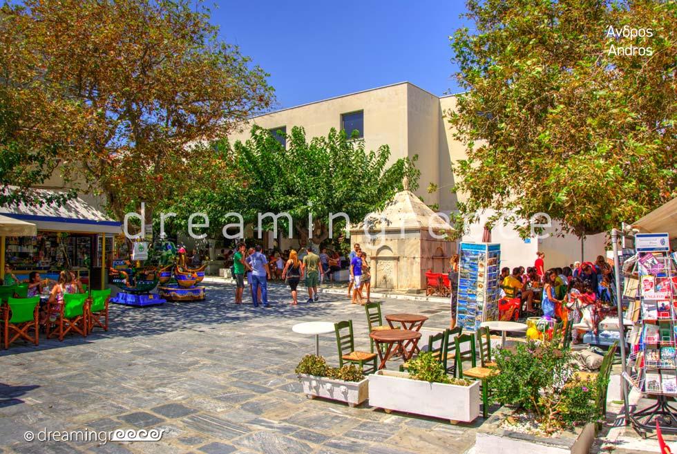 Explore Andros island Greece Cyclades islands
