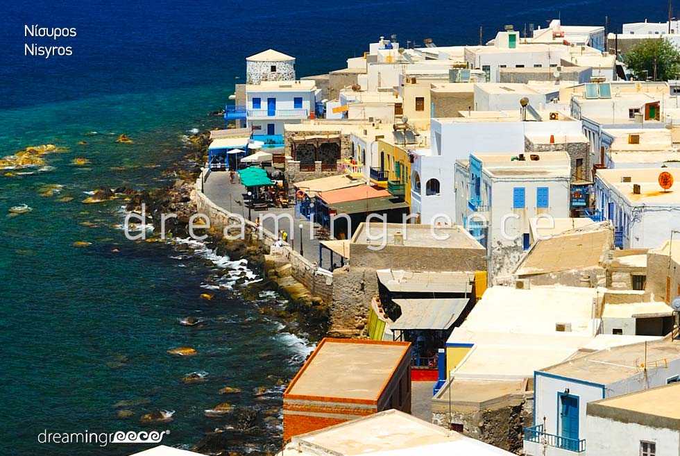 Travel Guide of Nisyros island Dodecanese Greece