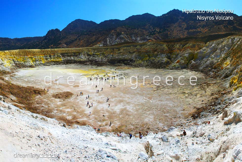 Holidays in Nisyros island Volcano Dodecanese Greece