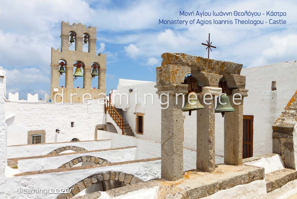 Explore the Castle Patmos island Dodecanese Greece