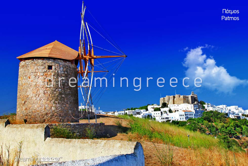 Travel Guide of Patmos island Dodecanese Greece