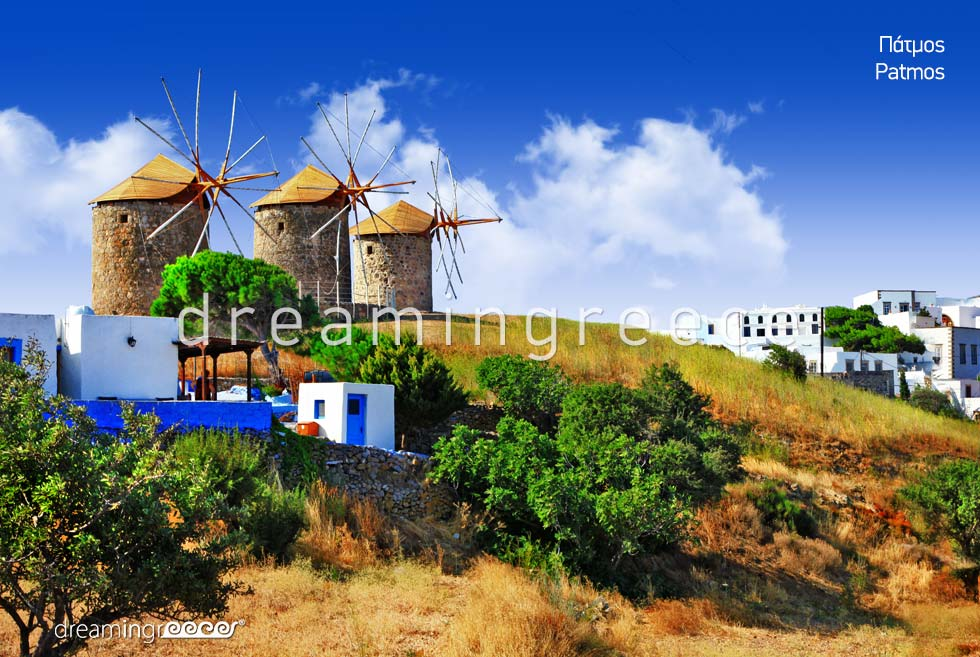 Vacations in Patmos island Dodecanese Greece