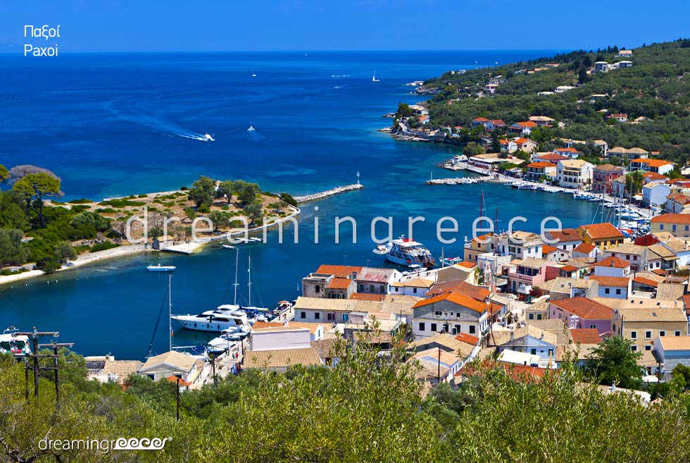 Gaios Paxos Antipaxos Tourist Guide Greece Ionian Islands