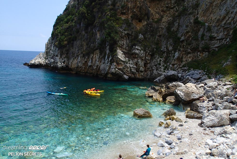 Sea Kayaking Pelion Secrets in Greece. Activities in Greece.