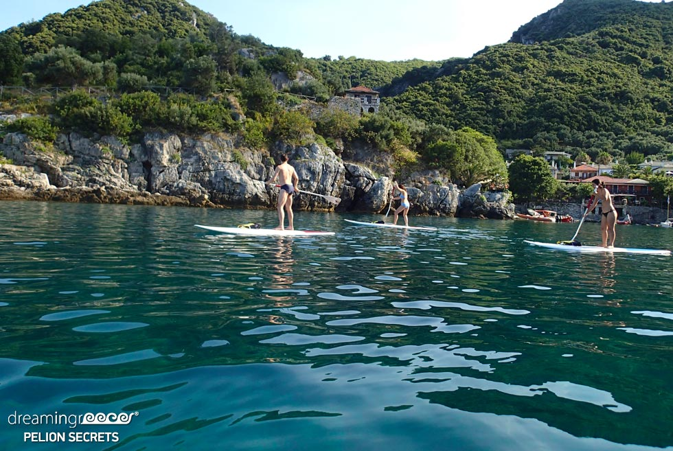 Sea Kayaking Pelion Secrets. Crystal clear waters in Greece.
