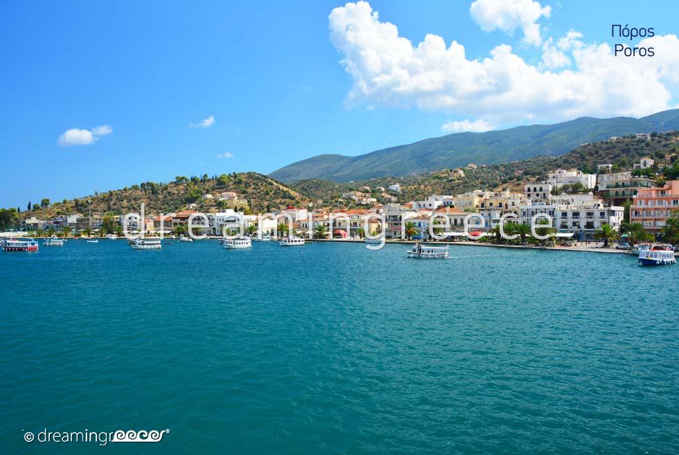 Tourist Guide of Poros island Greece  Argosaronic islands
