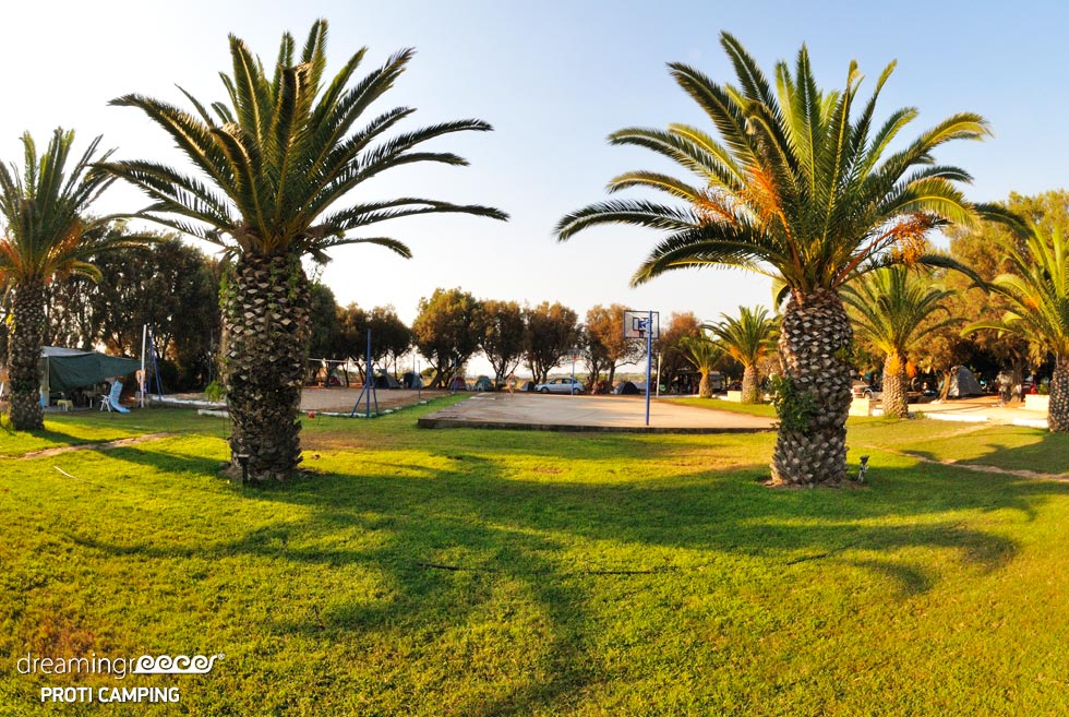 Camping Proti in Messinia Peloponnese. Discover Greece.