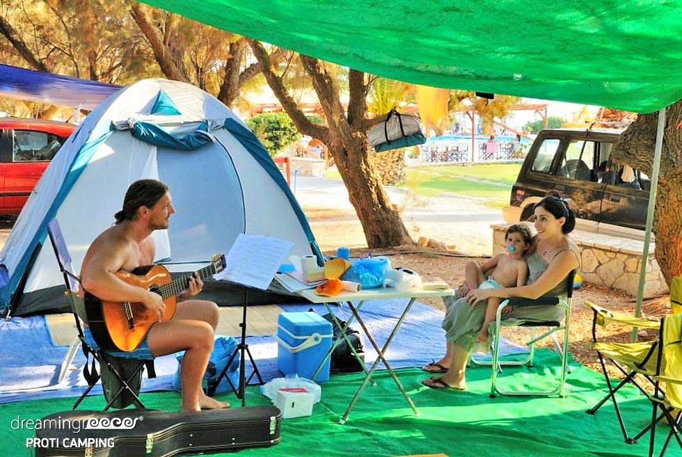 Camping Proti Messinia Marathopoli. Activities in Greece.