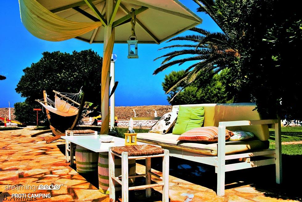 Camping Proti in Messinia Camping in Marathopoli. Discover Greece.